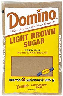 Light Brown Baking Sugar - 2 LB Bag (32 oz)