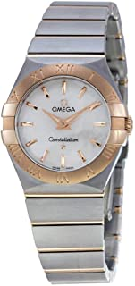 Constellation Mother Of Pearl Dial Gold and Steel Ladies Watch 12320276005001