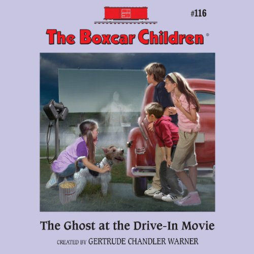 The Ghost at the Drive-In Movie audiobook cover art