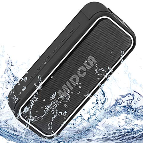MIDOLA Bluetooth Speaker 40W IPX7 Waterproof Wireless 5.0 Portable HiFi Dual-Drive Tri-Bass 20-Hour Playtime Time Stereo Pairing for Phone Pad Tablet TV