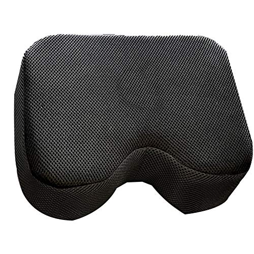 cuiyoush Widerstands-Kissen für Rudermaschinen, weiches Sitzkissen für Fahrräder, dicker Memory-Schaumstoff, 1 Stück mehrfarbig
