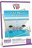 CofreVIP Caja Regalo 2 DÍAS Relax TU Y YO 3.900 estancias a Elegir en España y Europa para Dos Personas.