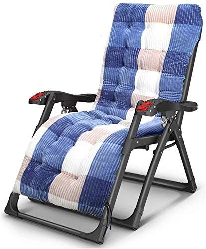 Sillón Sillón reclinable sillón reclinable silla reclinable, silla plegable transpirable de la silla reclinable de la silla reclinable de la silla de siesta casual silla de sofá perezoso con el reposa