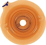Coloplast Assura Two-Piece Cut-to-fit Convex Light Standard Wear Skin Barrier with Flange and Belt Tabs 5/8' to 7/8' Stoma Opening, 1-9/16' Flange, Round, Flexible (Box of 5 Each)