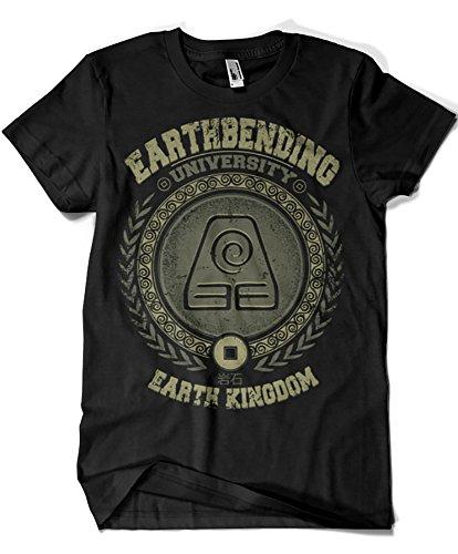 764-Camiseta Earthbending University (Typhoonic)