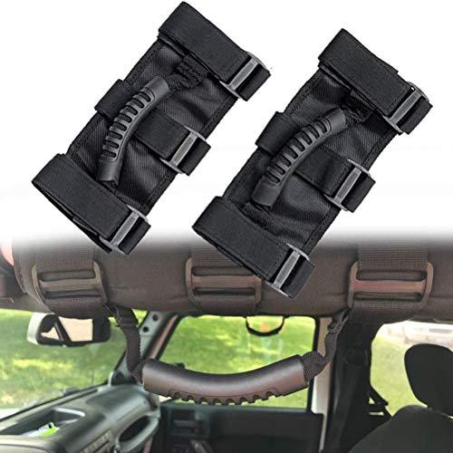 StyleBest 2 Stück Rollstangengriffe Griffe Passend für Jeep Wrangler CJ YJ TJ JK Wrangler Zubehör