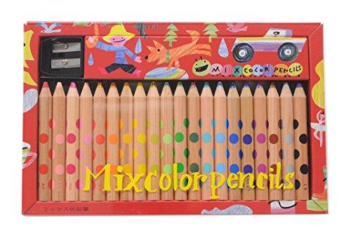 コクヨ 色鉛筆 ミックス色鉛筆 20本 KE-AC2
