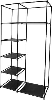 IDEBOX RG6202 - Armario con 5 Casillas y un Armario Metal Color Negro Talla nica