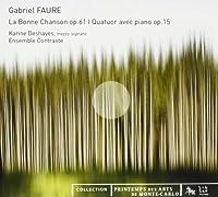 Le Bonnechanson Op.61 Quatuor Avec Piano Op.15