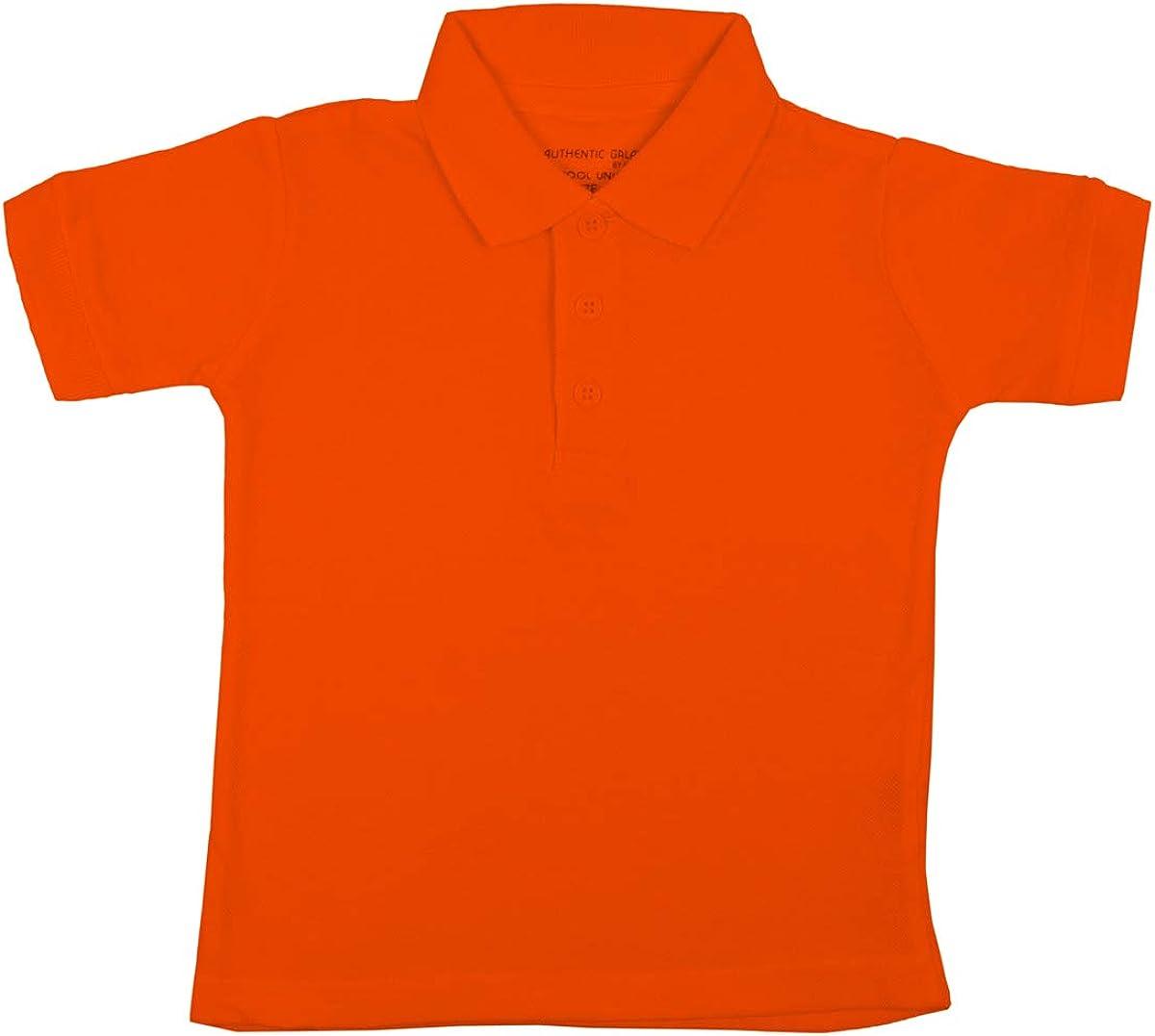 Authentic Galaxy Uniform Baby Boys Short Sleeve Pique Polo