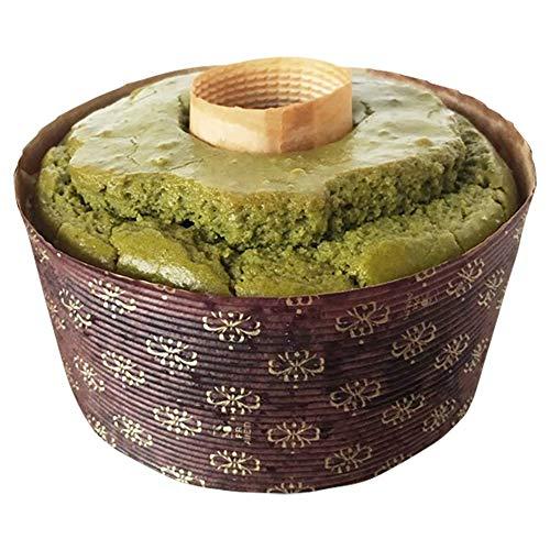グルテンフリー 豆乳米粉シフォンケーキ (抹茶) アレルギー対応 冷凍便発送 gluten free green tea chiffon cake / Matcha cake