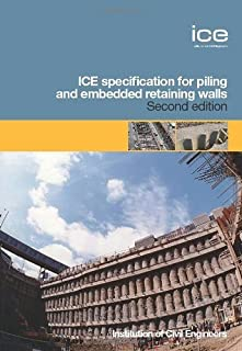 ICE Specification for Piling and Embedded Retaining Walls by Federation of Piling Specialists, ICE (2007) Hardcover