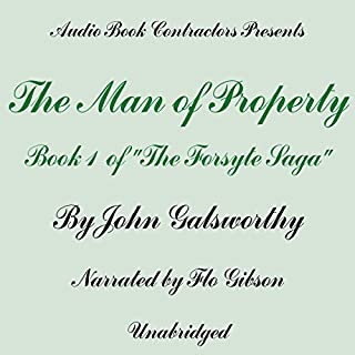 The Man of Property audiobook cover art