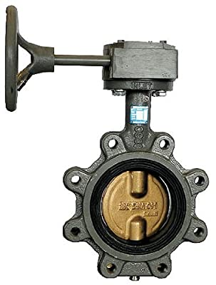 Butterfly Valve, Lug, Pipe Size 8 In by Milwaukee Valve
