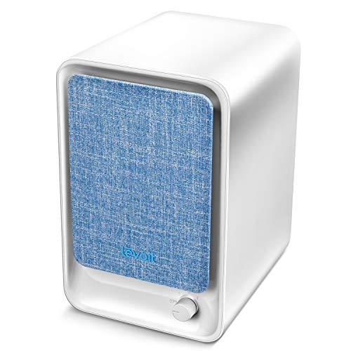 Levoit Luftreiniger Desktop mit HEPA & Aktivkohlefilter, Air Purifier gegen Staub Rauch Allergie, 3-Stufen-Filterung für 99,97{09497fb0408107074927d18e0f1ae83d0a0d77fafd73ae4b4badce74a0fd170e} Filterleistung, geeignet für Allergiker Raucher Tierbesitzer Asthma