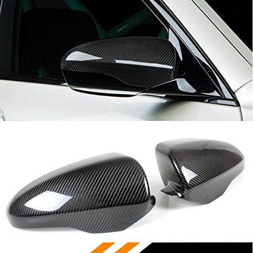 Cuztom Tuning Direct Add on Carbon Fiber Side Mirror Covers Cap for 2012-2018 BMW F06 F12 F13 M6