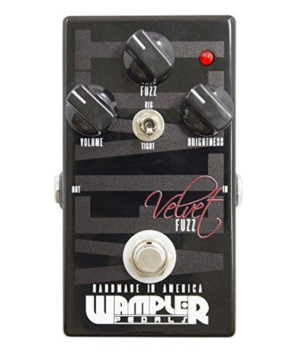 Wampler Velvet Fuzz Electric Guitar Effects Pedal