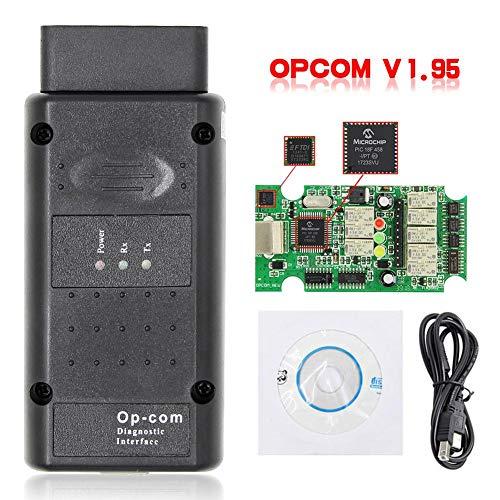 Uemaker OBD2 Diagnosegerät Auto WiFi Diagnose OBD für OPCOM 2014V V1.99 Diesel Truck mit Bluetooth USB für Opel