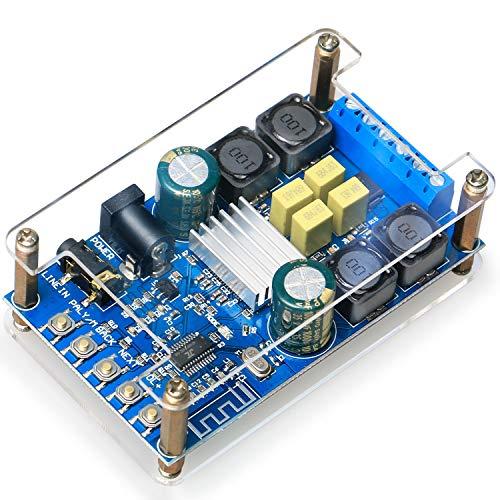 OWAYKEY Scheda Amplificatore Bluetooth, 50 w+50 w 2 Canali Audio Amplifier Board Bluetooth e AUX Ingresso