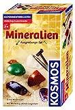 Kosmos 630447 - Mineralien Ausgrabungs-Set, Grabe echte Mineralien selbst aus, mit Hammer und Meißel, Experimentierset für Kinder ab 7 Jahre