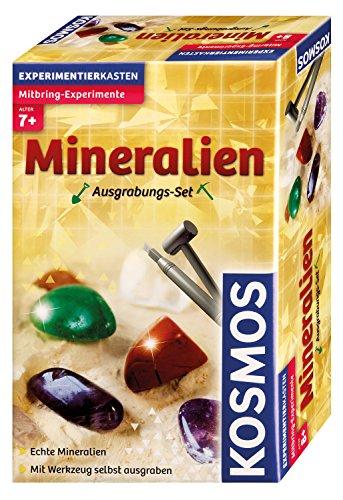 Ausgrabungsset Mineralien: Glitzernde Mineralien zum selbst Ausgraben