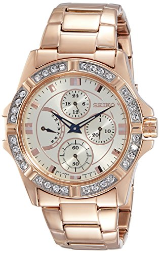 Seiko Analog White Dial Women's Watch - SRLZ84P1
