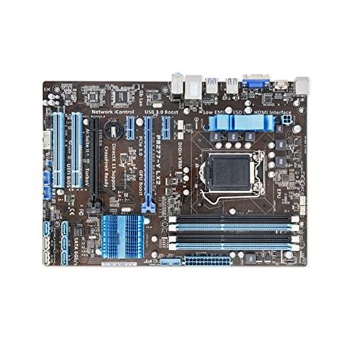 YLYWCG Placa Base de computadora Apta para ASUS P8Z77-V lx2 Placa Base de computadora lga 1155 ddr3 para Intel z77 p8z77 Placa Base de Escritorio sata II pci-e x16