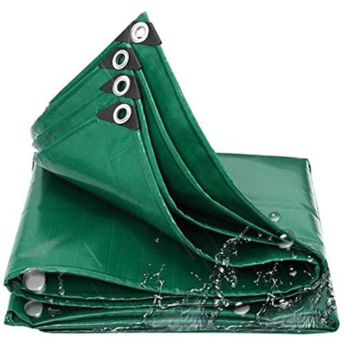 ZXHQ Lona ProteccióN Impermeables Duradera 4x4m, Lona Pesado Resistente Al Agua, Lona Pesado Impermeable con Ojales ProteccióN FríO para Al Aire Libre Piscina