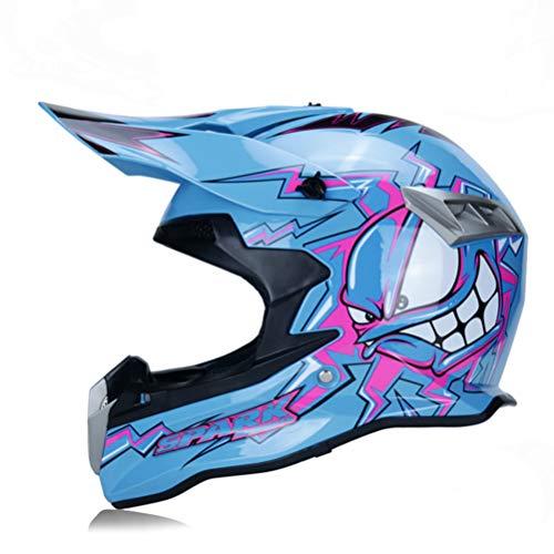 Motorcycle Helmet Flip Adult Bike Bicycle Motocross Off Road Helmet Atv...