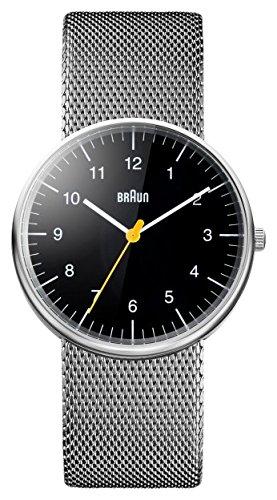 Braun Herren Armbanduhr BN0021BKSLMHG