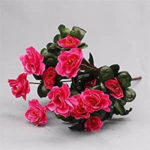 Artificial Flowers Yiting 7 fork simulation rhododendron flower fake flower flower decoration