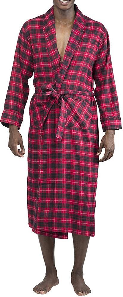 Norty - Mens Soft Special sale item Brushed Cotton Shawl Blend Collar Flannel [Alternative dealer] Bath