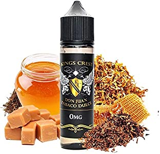 Don Juan Tabaco Dulce E-Liquid | 50ML | Sin Nicotina: 0MG | 70VG/30PG | E-Liquido para Cigarrillos Electronicos | Vaper | E Cigarette | E Shisha