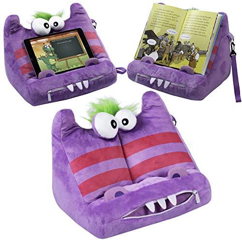 Gifts for Readers & Writers BookMonster Deluxe Buch iPad Tablet Halter Neuartig eReader Ruhe Sofa Kissen Ständer Geschenkidee - Grumbis