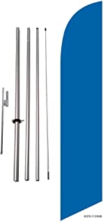 Solid Colored Feather Banner Flag Kit w/Spike