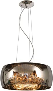 Lucide PEARL - Suspension - Ø 50 cm - G9 - Chrome