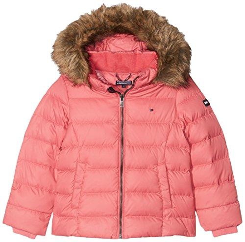 Tommy Hilfiger Mädchen AME Thkg Dg Basic Jacket Jacke, Rosa (Rapture Rose 699), Jahre (Herstellergröße: 16)