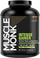 MuscleMonk Intense Gainer - Royal Chocolate (3 Kg/ 6.6 lbs)