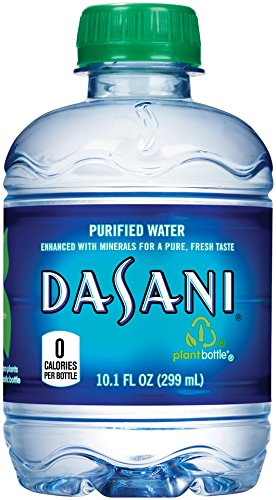 DASANI Purified Water Bottles Enhanced with Minerals, 10.1 fl oz,...