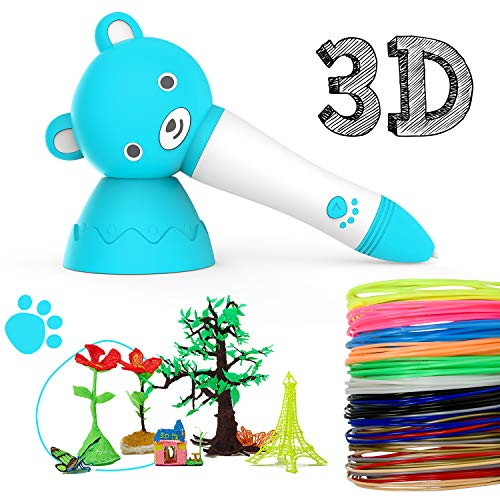 Pluma de impresión 3D,3d Pluma Inteligente,Boligrafo 3D con Pantalla LCD para Impresión 3D Regalo...