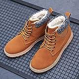 Splaa Botas Zapatos Botas Zapatos Hombre Botas Zapatillas de Trabajo Zapatos 39 Amarillo