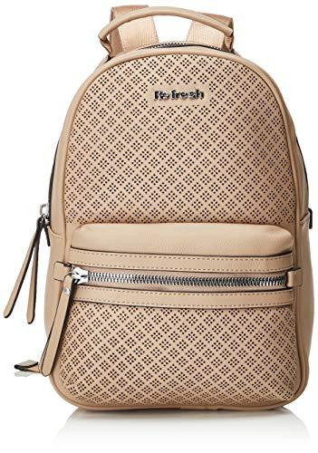 REFRESH 83259, Bolso mochila para Mujer, Beige (Beige), 24x31x14 cm (W x H x L)