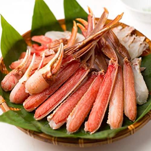 OWARI 蟹セット 生ズワイガニ バルダイ種 カット済み 冷凍 加熱用 2kg (1kgx2P) 焼き蟹 カニ鍋 かにしゃぶに ギフト