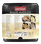 Zenker 6537 Plaque de cuisson extensible, plaque à four universelle, plaque à pâtisserie, Téflon, Noir, 37 x 33 x 1,5 cm / 52 x 33 x 1,5 cm #2