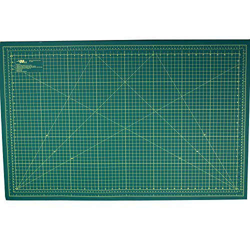 Base de Corte Verde Dupla face 90X60 CM