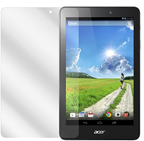 dipos I 2X Schutzfolie klar kompatibel mit Acer Iconia One 8 B1-810 Folie Bildschirmschutzfolie
