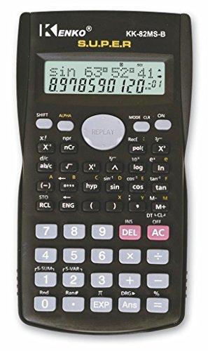 Calculadora científica electrónica de bolsillo, técnica, 240 funciones, pantalla de 2 líneas