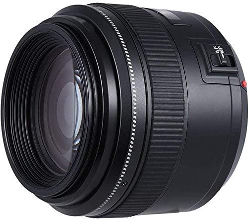 85 mm AF/MF F F 1.8 Lente de teleobjetivo Mediano para Canon EF Mount EOS Lens Polea Focal Evolutions