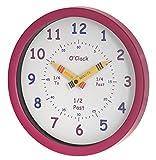 Unity - Reloj de Pared para niños Henley 'Aprende Las Horas