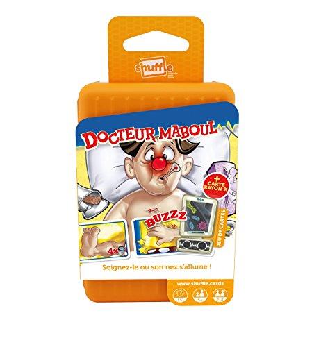 Shuffle Go - Docteur Maboul - Jeu de cartes